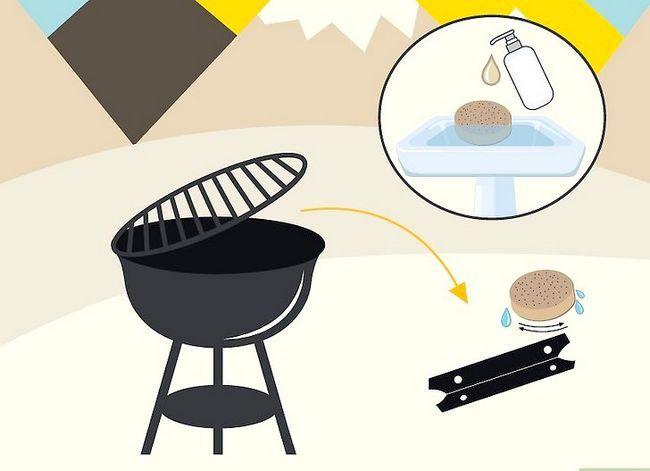 Prent getiteld Reinig `n Buitelug Gas Grill Stap 11