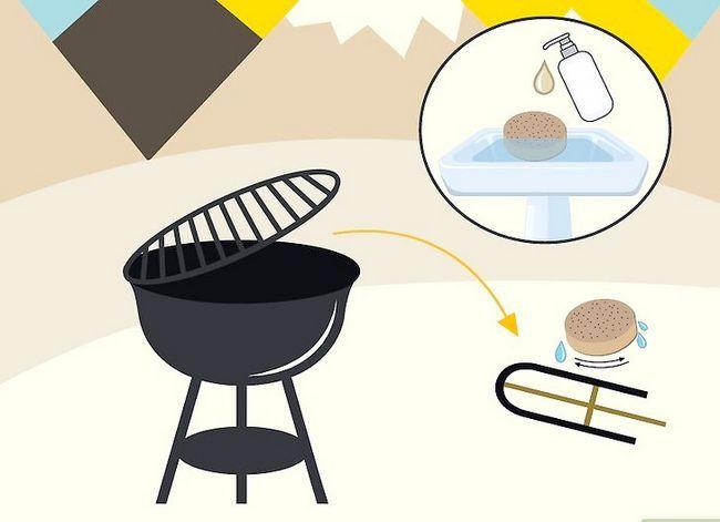 Beeld getiteld Skoon `n Buitelug Gas Grill Stap 12