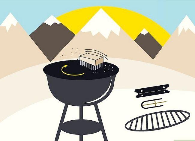 Prent getiteld Reinig `n Buitelug Gas Grill Stap 13