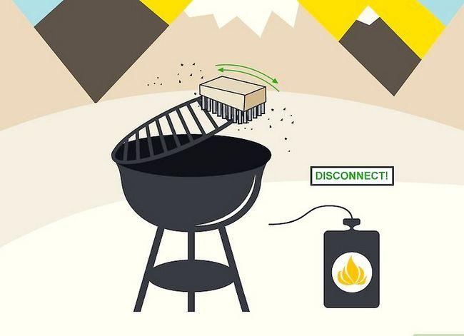 Beeld getiteld Skoon `n Buitelug Gas Grill Stap 02