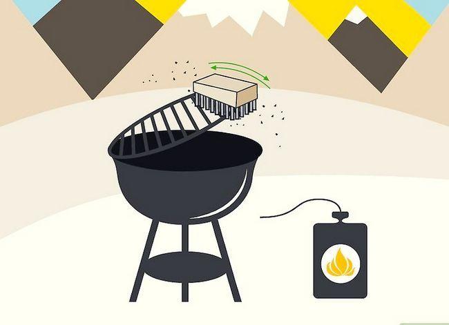 Prent getiteld Reinig `n Buitelug Gas Grill Stap 10
