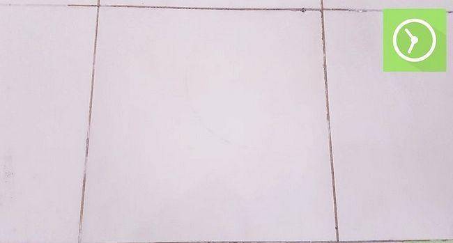 Prent getiteld Skoon Tile Met Asyn Stap 7