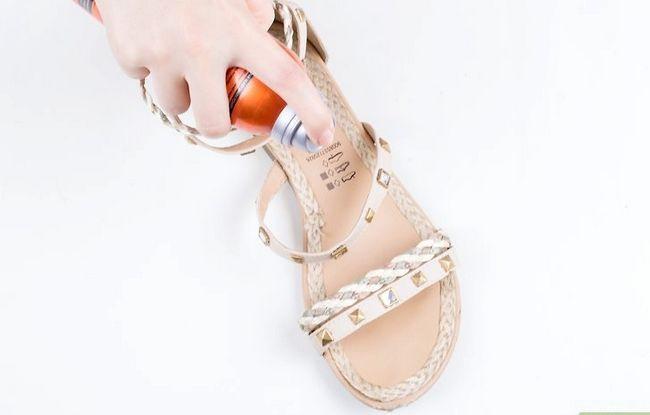 Prent getiteld Skone Leer Sandale Stap 9