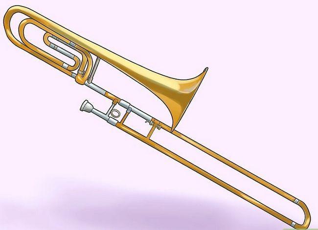 Prent getiteld Maak `n Trombone Stap 9 skoon