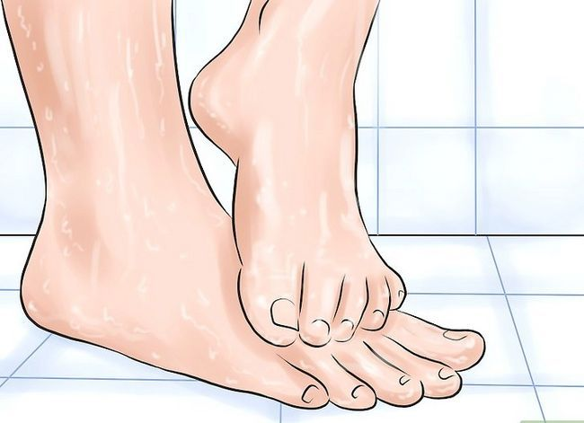 Prent getiteld Skoon Rainbow Sandals Stap 8