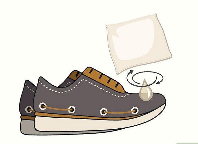 Image getiteld Clean Sperrys Stap 5