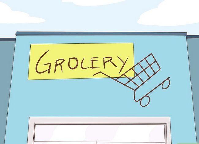 Beeld getiteld Bespaar baie geld wanneer jy by die Supermarket Stap 2 gaan