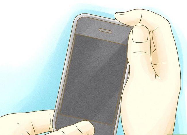 Prent getiteld Maak jou selfoon battery laas Stap 1