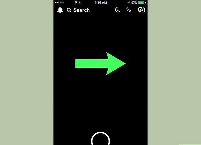 Prent getiteld View Sent Snapchats Stap 11