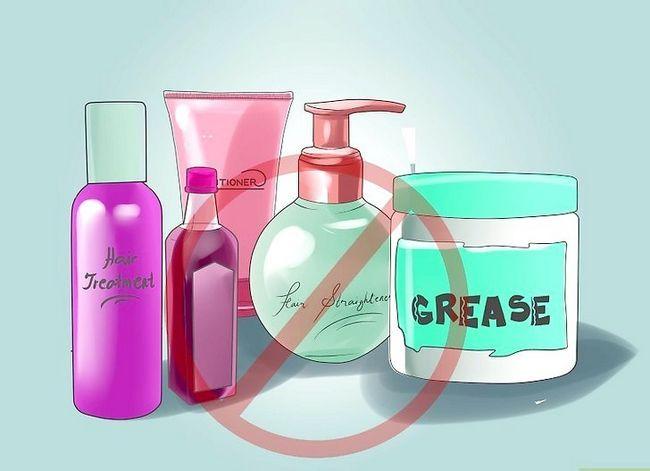 Prent getiteld Koste effektief. Pas op vir African Hair en kry beter resultaat. Stap 1