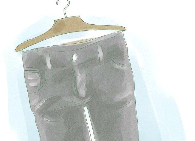 Prent getiteld Dress Up Jeans Stap 1