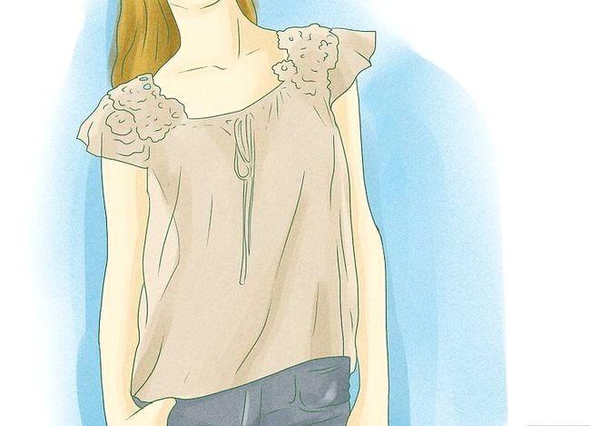 Prent getiteld Dress Up Jeans Stap 13