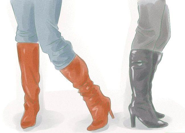 Prent getiteld Dress Up Jeans Stap 21