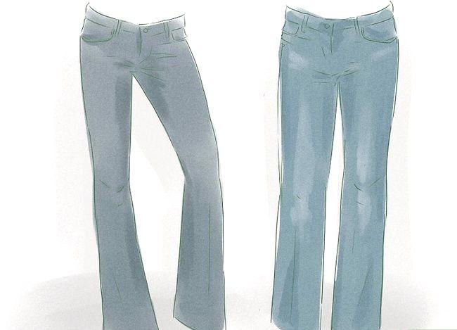 Prent getiteld Dress Up Jeans Stap 2