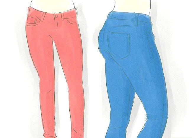 Prent getiteld Dress Up Jeans Stap 3