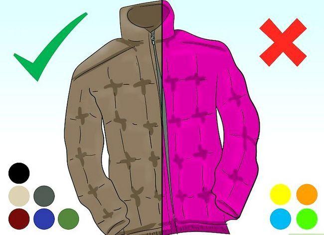 Prent getiteld Dra `n Puffer Jacket Stap 2