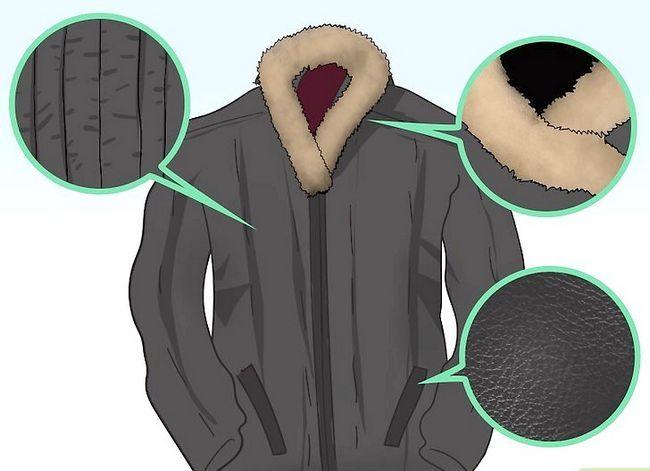 Prent getiteld Dra `n Puffer Jacket Stap 4