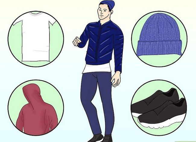 Prent getiteld Dra `n Puffer Jacket Stap 6
