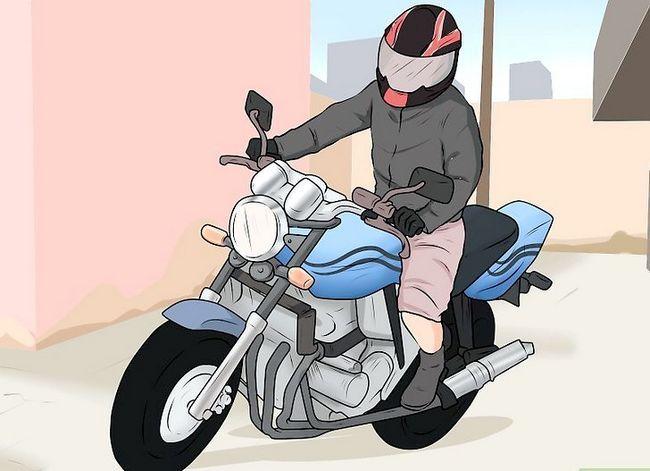Prent getiteld Ride a Motorcycle (Beginners) Stap 12