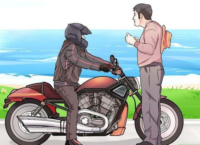 Prent getiteld Ride a Motorcycle (Beginners) Stap 4