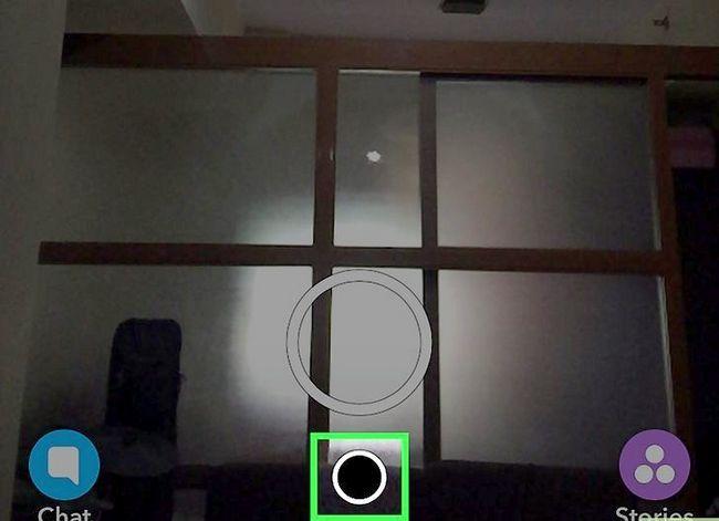 Prent getiteld Hou Snapchat Memories Privaat Stap 1