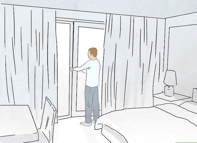 Prent getiteld Hou jou hotel Kamer Veilige Stap 14