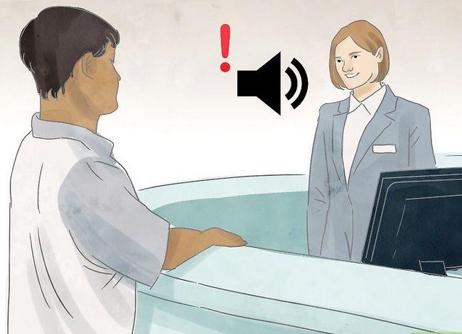 Prent getiteld Hou jou hotel Kamer Veilige Stap 3