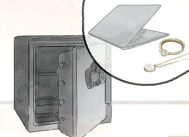 Prent getiteld Hou jou hotel Kamer Veilige Stap 10
