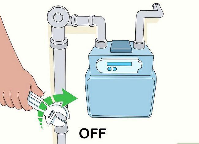 Prent getiteld Onderhou `n Tankless Water Heater Stap 1