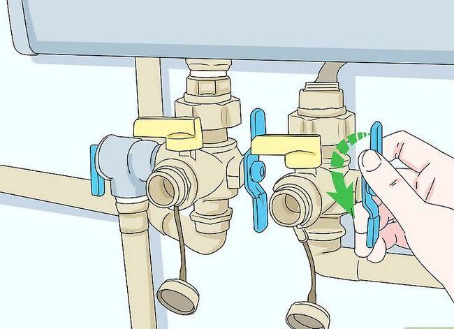Prent getiteld Onderhou `n Tankless Water Heater Stap 2