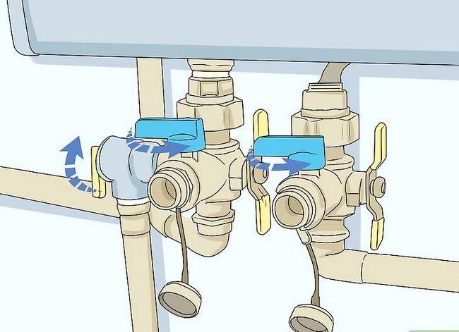 Prent getiteld Onderhou `n Tankless Water Heater Stap 3