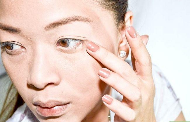 Prent getiteld Doen Make-up Soos Amy Lee van Evanescence Stap 1