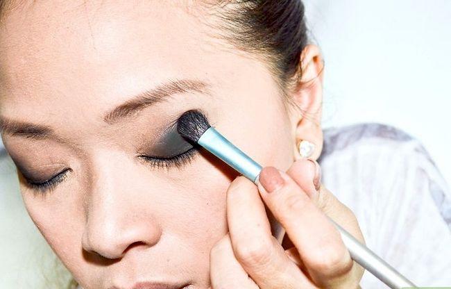 Prent getiteld Doen Make-up Soos Amy Lee van Evanescence Stap 5