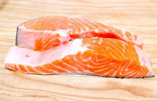 Prent getiteld Marinate Salmon Step 13
