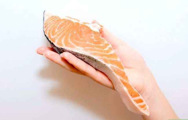 Prent getiteld Marinate Salmon Step 14