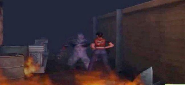Prent getiteld Kill the Tyrant in Resident Evil Code Veronica X Stap 4