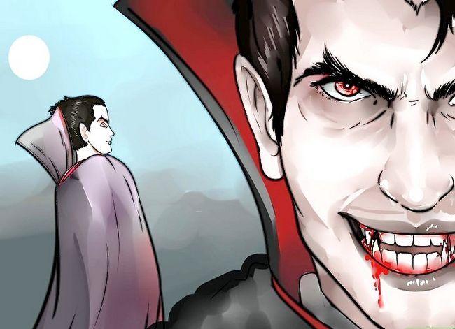 Prent getiteld Kill a Vampire Stap 1