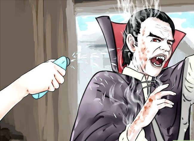 Prent getiteld Kill a Vampire Stap 5