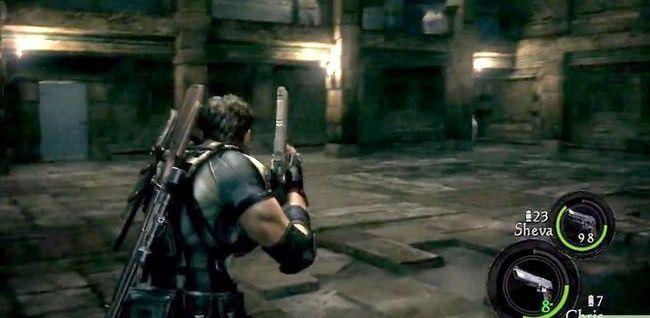 Beeld getiteld Kill Albert Wesker in Resident Evil 5 Step 11