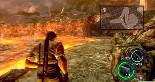 Beeld getiteld Kill Albert Wesker in Resident Evil 5 Step 3