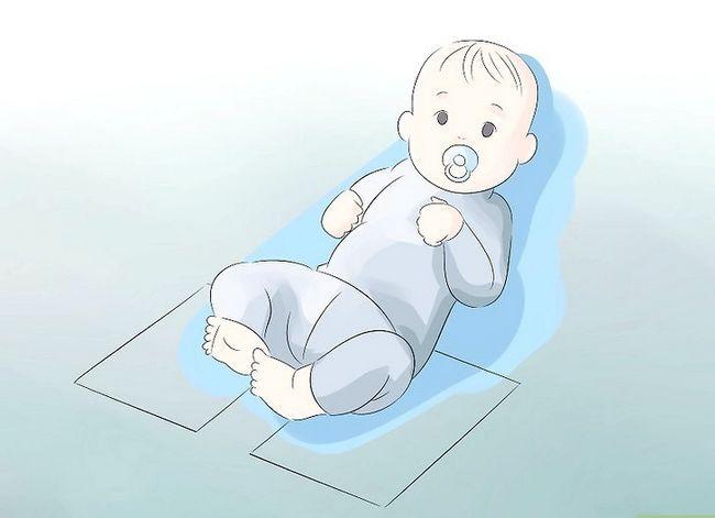 Beeld getiteld Meet Babyfoet Stap 2