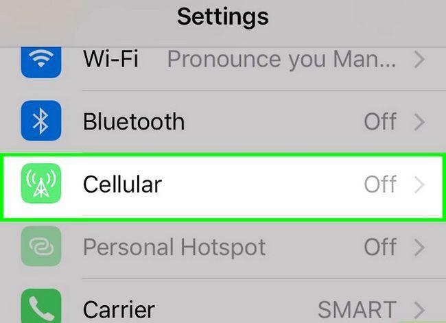 Prent getiteld Verbeter die ontvangs op `n iPhone 3G Stap 4