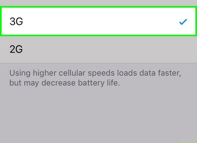 Prent getiteld Verbeter die ontvangs op `n iPhone 3G Stap 5