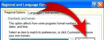 Prent getiteld Verander Windows Tydskerm om jou naam in te voeg Stap 3