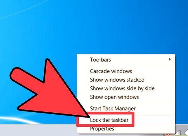 Beeld getiteld Wysig die grootte van u Windows-taakbalk Stap 1