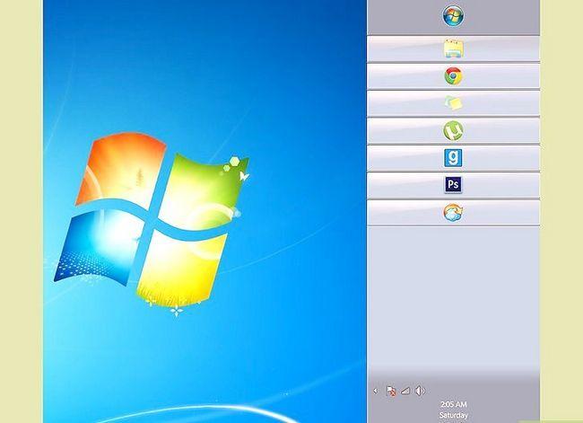Beeld getiteld Wysig die grootte van u taakbalk op Windows Desktop Stap 8