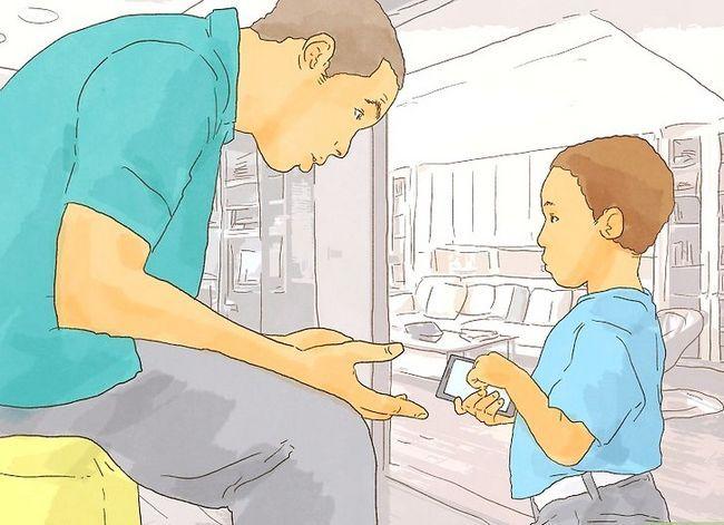 Prent getiteld Moedig jou kind aan om Stap 4 te leer leer