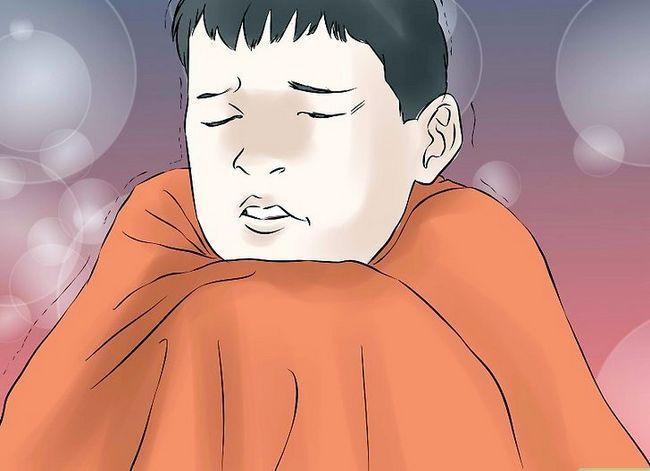 Prent getiteld Monitor a Child`s Fever Step 4