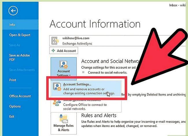 Prent getiteld Skuif Outlook-data na `n nuwe rekenaar Stap 13