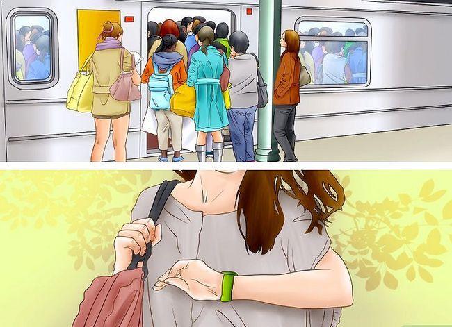 Prent getiteld Ry die Washington D.C. Metro Stap 1